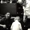rodzice i wnuczka Dominika fot P Kaja